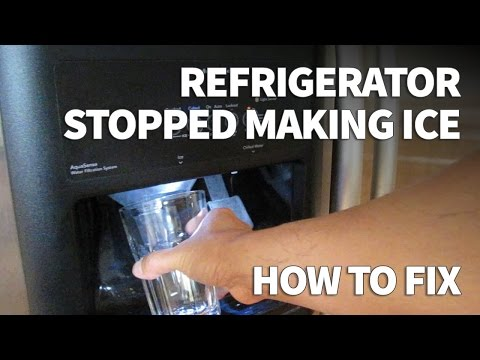 Refrigerator Ice Maker Not Making Ice - Easy Fix Zero Cost