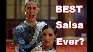 """""""AMAZING, DYNAMIC & POWERFUL"""" SEXY Salsa! - Brother & Sister 