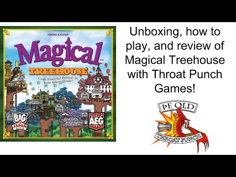 Ring Side Report of Magical Treehouse with Unboxing, How to Play, and Review
