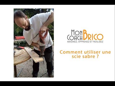 Comment utiliser une scie sabre : Conseils et astuces de Mon Coach Brico