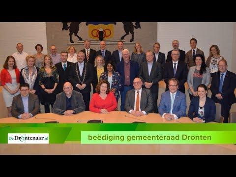 VIDEO | Nieuwe gemeenteraad stelt na beëdiging informateur Harry ter Braak aan