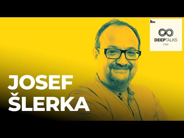 DEEP TALKS 97: Josef Šlerka – Datový analytik, vedoucí oboru Studia nových médií UK