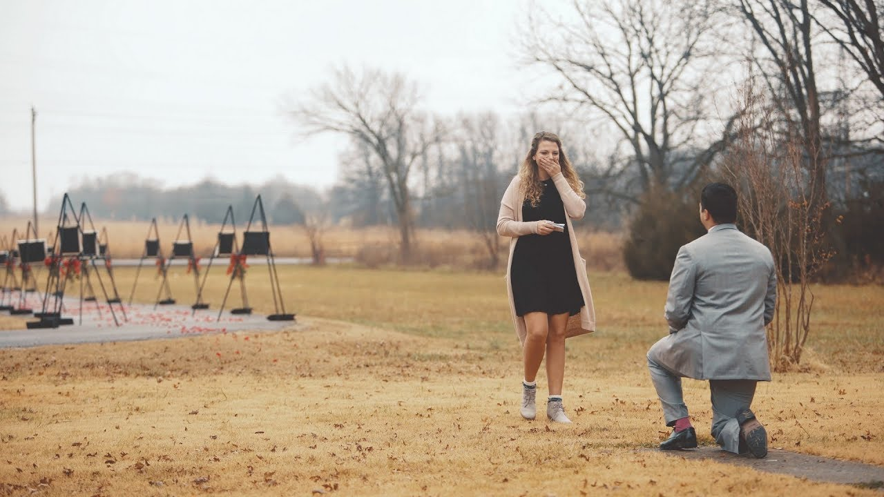Surprise Marriage Proposal |
