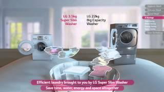 LG Super Slim Washing Machine