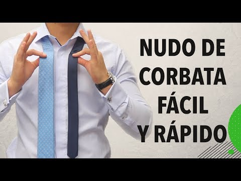 Cómo hacer el nudo de la corbata FÁCIL y RÁPIDO | Humberto Gutiérrez
