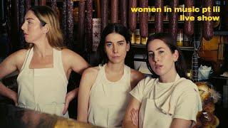 HAIM – WOMEN IN MUSIC PT III LIVE SHOW