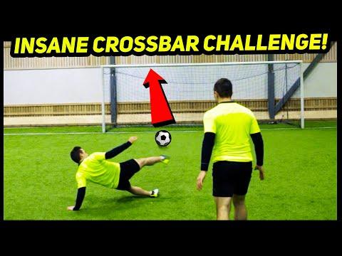 Insane CROSSBAR Trickshot CHALLENGE! 😱