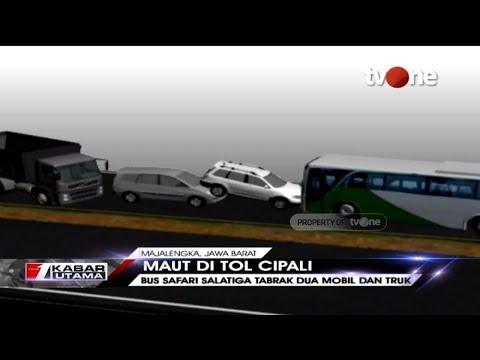 Ilustrasi Detik-detik Kecelakaan Maut di Tol Cipali