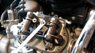 Moto Guzzi 850 valve adjust.AVI