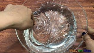 DIY JUMBO CLEAR SLIME !! Making A Jumbo Clear Slime ! Tom Slime