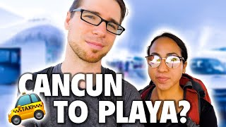 How to Get to Playa del Carmen from the Cancun Airport ✈️