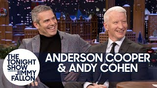 Anderson Cooper and Andy Cohen Met on a Failed Blind Date