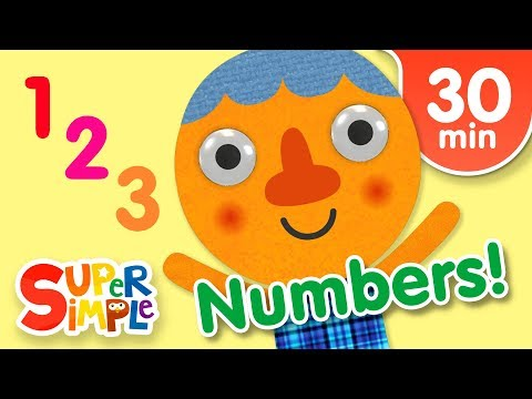 Download Our Favorite Numbers Songs | Kids Songs | Super Simple Songs Mp4 HD Video and MP3