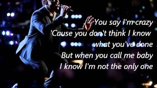 Damien-I'm Not The Only One-The Voice 7[Lyrics]