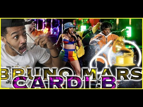 🔥🙌🏾BEST PERFORMANCE Bruno Mars and Cardi B - Finesse LIVE From The 60th GRAMMYs REACTION 🙌🏾🔥