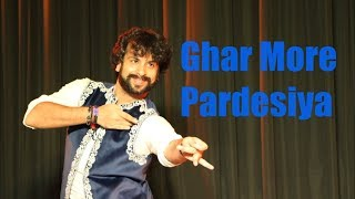 Dance On GHAR MORE PARDESIYA (Kalank)  By Devesh Mirchandani