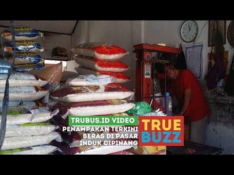 Penampakan Terkini Beras di Pasar Induk Cipinang