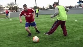 Sport Adapté et Unifié sur un terrain de Foot5