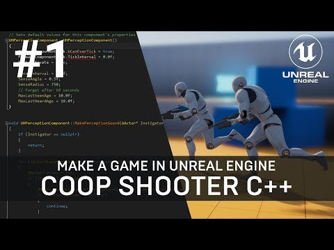 """Multiplayer Third-Person Shooter Tutorial in C++ [Unreal Engine 4 - Part 1 """"Coding the Weapon""""]"""
