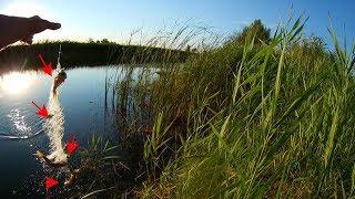 Рыболовная снасть из сетки