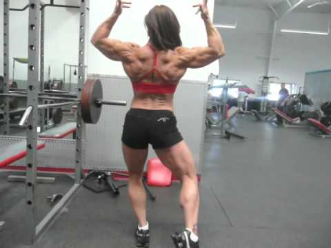 Christina Rhodes Two Weeks Out - NPC Nationals