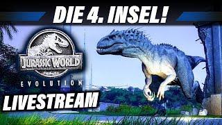 JURASSIC WORLD EVOLUTION Livestream Deutsch - Die 4. Insel | Gameplay German