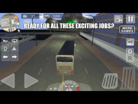 Fantastic City Bus Parker 3 - HD Gameplay Video