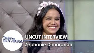 Zephanie Dimaranan | TWBA Uncut Interview
