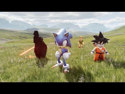 Unreal Engine 4 [4 8 1] Sonic The Hedgehog / Kite Demo