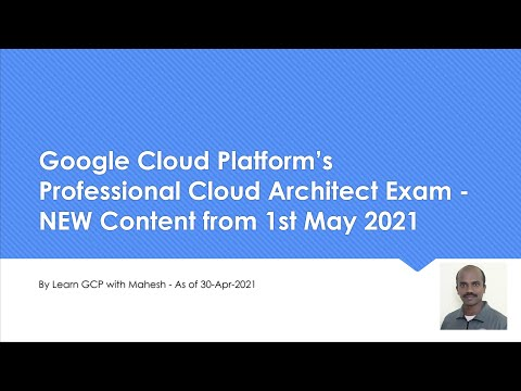 Google Cloud Platform's Professional Cloud Architect Exam - NEW ...