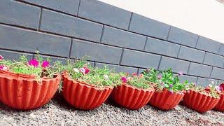 Chedichatti Nirmanam/വീട്ടിൽ ചെടിച്ചട്ടി നിർമ്മിക്കുന്ന വിധംHow To Make Flower Pot At Home