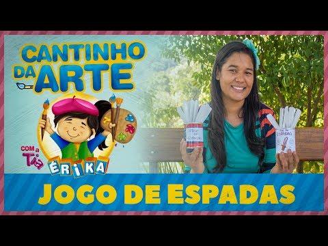 JOGO DE ESPADAS | Especial de férias com a Tia Érika