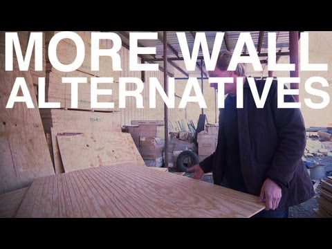 Cheap Drywall Alternatives