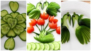 Best Salad decoration ideas for salad competition   Salad compilation