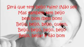 Larissa Manoela - Beijo,Beijinho,Beijão  (Letra)