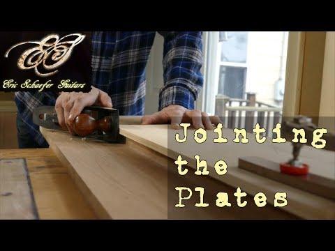 Jointing the Plates - Eric Schaefer Guitars - Online Guitar Building School