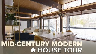 Tour This Iconic Mid-Century Modern Home