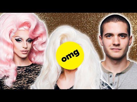I Transformed Into A Drag Queen Feat. Miz Cracker (видео)
