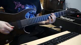 Fear Factory - Pisschrist Guitar Cover
