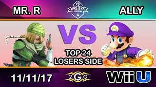 IBP Masters 2017 - BC | Mr. R (Sheik) Vs. C9 (Ally) Losers Side