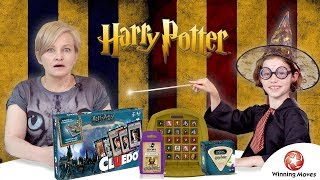Gry Harry Potter, Cluedo, Top Trumps, Top Trumps Match, Trivial Pursuit, Winning Moves.
