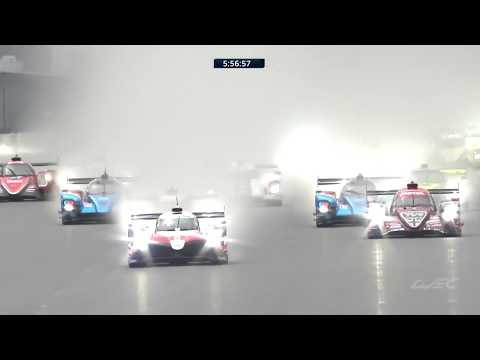 2018 6 Hours of Fuji - Start of the race on a wet track!