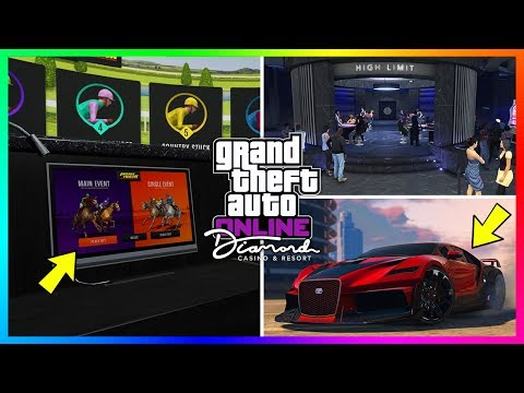 GTA 5 Online The Diamond Casino & Resort Update - TRAILER BREAKDOWN! Supercars, NEW Vehicles & MORE!