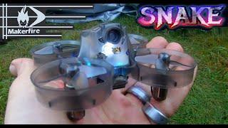 Makefire XG192 Snake85 85mm Micro 5.8 FPV Racing Drone FLIGHT REVIEW