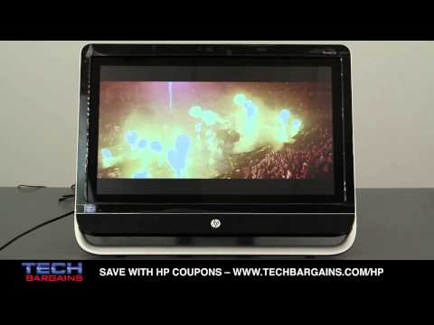 HP Pavilion TouchSmart 23 All In One Video Review (HD)