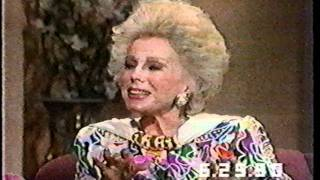 Eva Gabor on The Joan Rivers Show - 1990