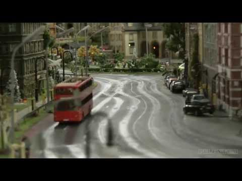 The City Edge Layout Model Railroad With Amazing Miniature Cars In HO Scale