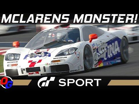Gran Turismo Sport – Mclaren F1 GT3 @ Kyoto Yamagiwa + Miyabi II   Let's Play GT Sport