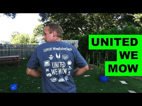 United We Mow | Lawn Care Community Fundraiser