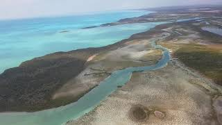 Flying in to Exuma, Bahamas (GGT) via American Airlines, January 2020